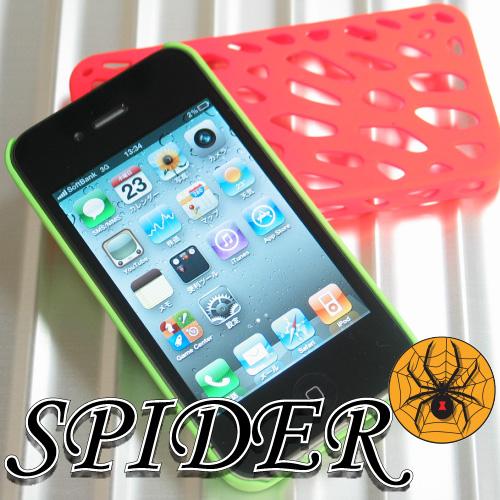 Apple iPhoneケース スパイダー
