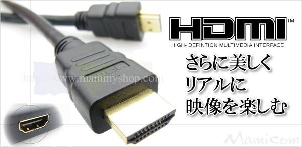 HDMIケーブルでもっと美しく!