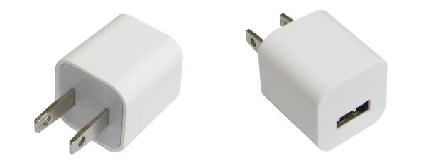 ACアダプタ USB口