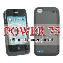 iPhone 充電ジャケット